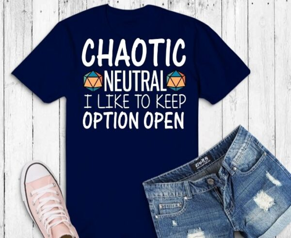 Chaotic neutral i like option open svg