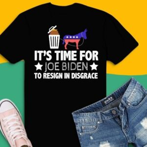 It Is Time For Joe Biden To Resign In Disgrace Anti Biden T-Shirt design svg, Funny Political Anti Biden American Flag, Anti Joe Biden For President, It Is Time For Joe Biden To Resign In Disgrace png